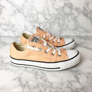 Converse All Star Peach Tangerine Sneakers